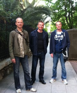 Jacob med venner i Nice
