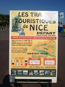 Turist tog i Nice