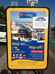 Rundtur med bus i Nice